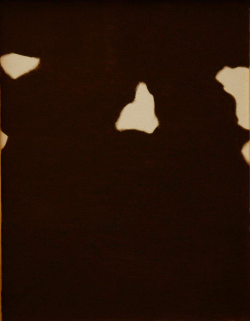 Srst č. 9 - skot / olej na plátně / 2008 / 45 x 35 cm